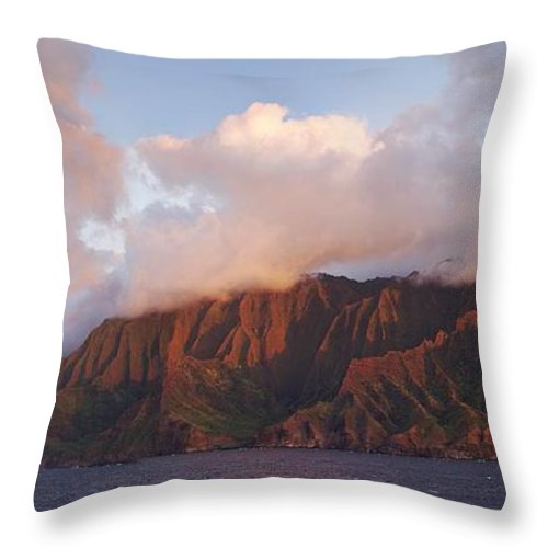 Hawaii Throw Pillow featuring the photograph Hawaii by Heather Coen