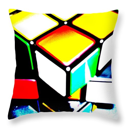 Digital Art Throw Pillow featuring the digital art Head To Toe by Piety Dsilva