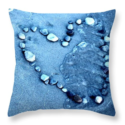 Throw Pillow featuring the photograph Heart by Robyn Doig