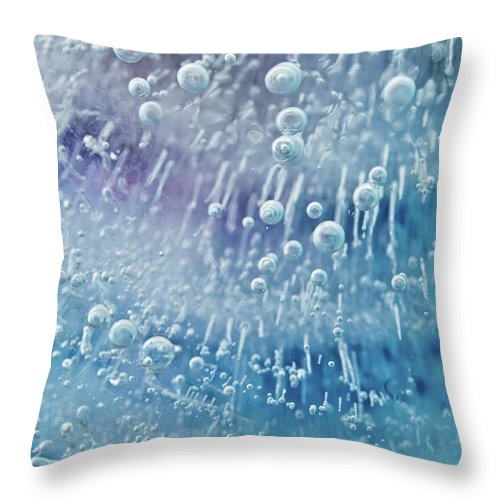 Abstract Throw Pillow featuring the photograph Heaven's Gate by Shannon Workman