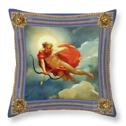 Helios The Sun God Throw Pillow For Sale By John Dobie