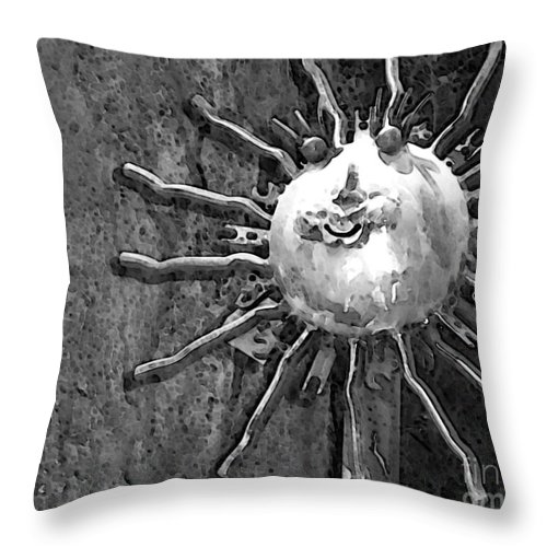 Sun Throw Pillow featuring the photograph Here Comes The Sun by Debbi Granruth