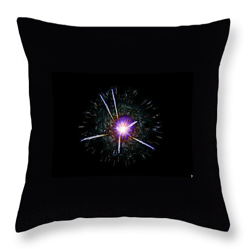 Cern Throw Pillow featuring the painting Higgs Boson by David Lee Thompson