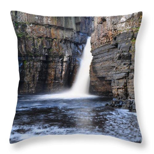 High Force Throw Pillow featuring the photograph High Force by Smart Aviation
