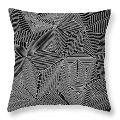 Digital Throw Pillow featuring the digital art Highs And Lows by Christopher Rowlands