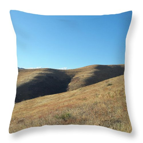 Colorado Throw Pillow featuring the photograph Hills Of Colorado by Timothy Ruf