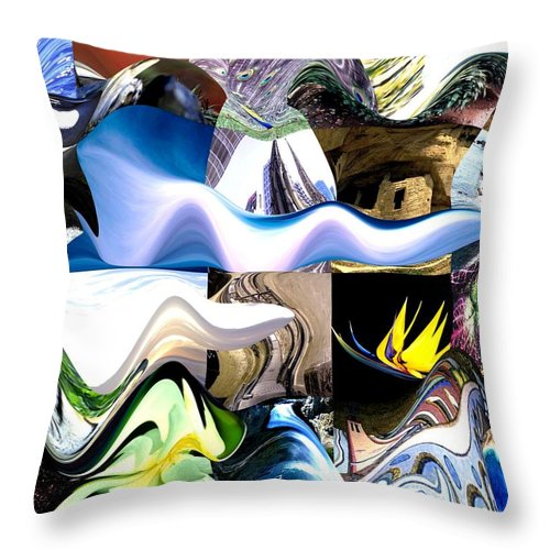 Photography Throw Pillow featuring the photograph History This Week by Jacquie King