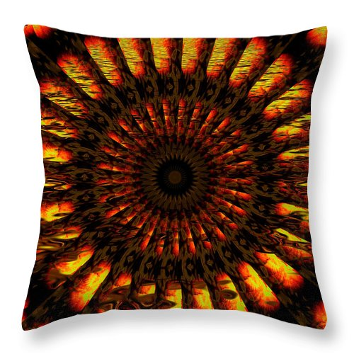 Wheel Throw Pillow featuring the digital art Hold On To Hope by Robert Orinski