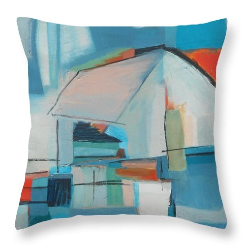 Paintings Throw Pillow featuring the painting Home by Danielle Nelisse