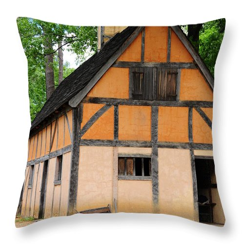 Jamestown Throw Pillow featuring the photograph Home Sweet Home by Tazz Anderson
