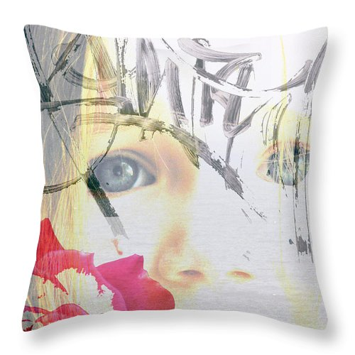 Modern Throw Pillow featuring the photograph Hope For The Future by Amanda Barcon