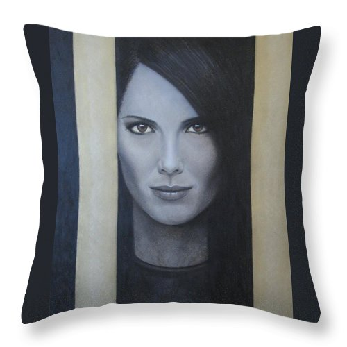 Hope Throw Pillow featuring the painting Hope by Lynet McDonald