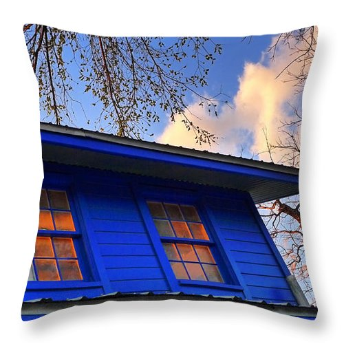 Hope Throw Pillow featuring the photograph Hope by Skip Hunt