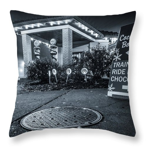 Lebanon Ohio Throw Pillow featuring the photograph Hot Hot Hot Chocolate by Andrew Johnson