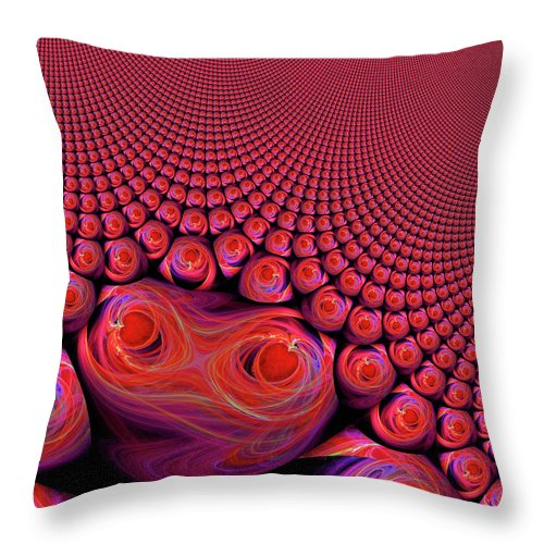 Digital Throw Pillow featuring the digital art How Rare Is Our Love by Michael Durst
