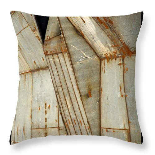 Hull Throw Pillow featuring the photograph Hull Detail by Tim Nyberg