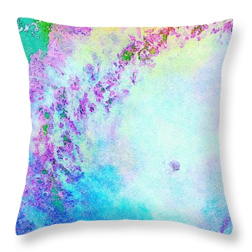 Hurricane Season Throw Pillow featuring the digital art Beauty and the Beast by James Temple