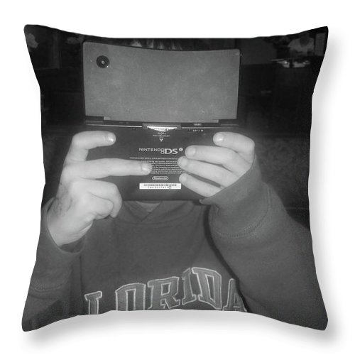 Ds Throw Pillow featuring the photograph I Am Listening Just Not Looking by WaLdEmAr BoRrErO