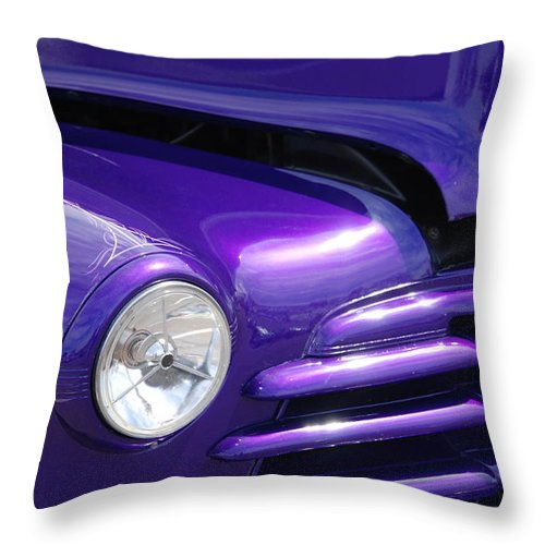 Cars Throw Pillow featuring the photograph I Drove The Shevy by Susanne Van Hulst