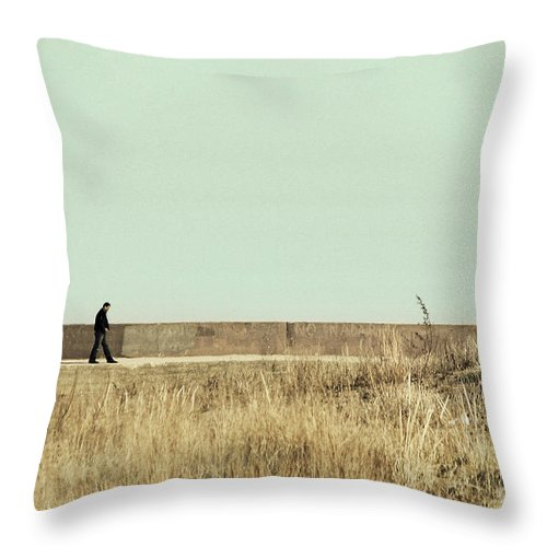 Dipasquale Throw Pillow featuring the photograph I Remember What We Said by Dana DiPasquale
