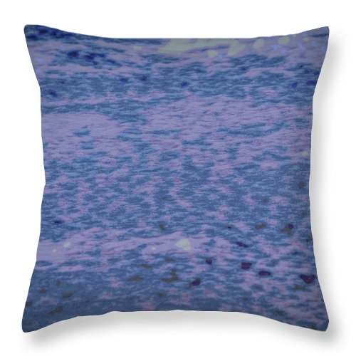 Ice Throw Pillow featuring the photograph Ice And Snow #h1 by Leif Sohlman