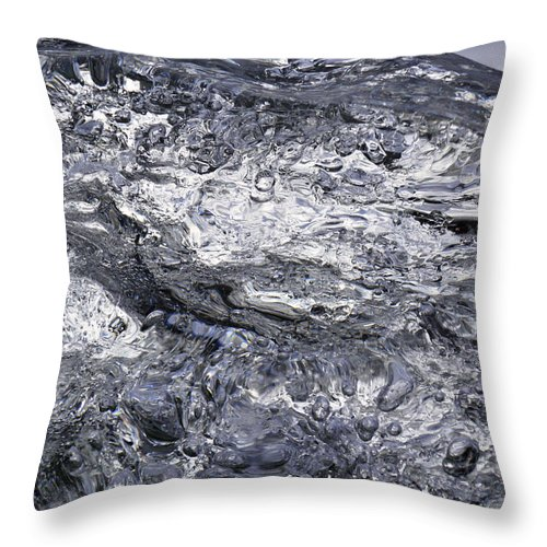 Ice Throw Pillow featuring the photograph Ice Mountain 1 by Sami Tiainen