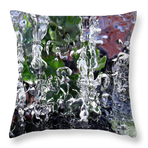Ice Throw Pillow featuring the photograph Ice World 4 by Sami Tiainen