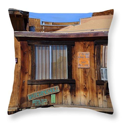 If You Have Nothing To Do Throw Pillow featuring the photograph If You Have Nothing To Do by Viktor Savchenko