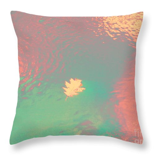 Abstract Throw Pillow featuring the photograph I'll Be There For You by Sybil Staples