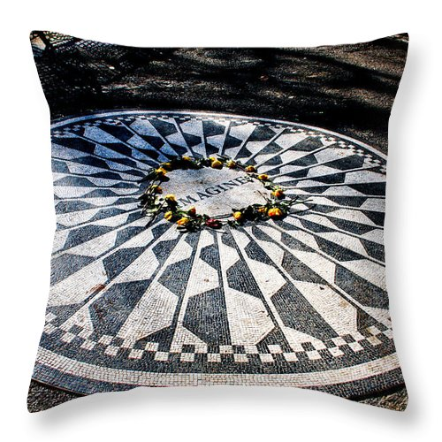 Imagine Throw Pillow featuring the photograph Imagine by Thomas Marchessault