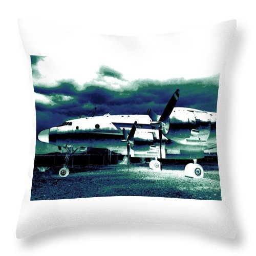 Impressions Throw Pillow featuring the digital art Impressions 7 by Will Borden