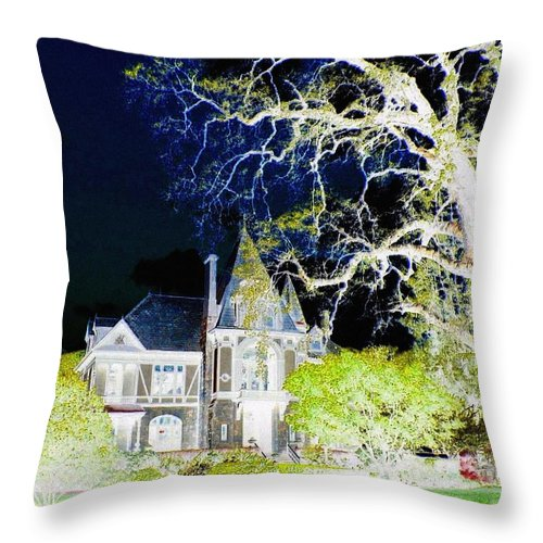 Impressions Throw Pillow featuring the digital art Impressions 9 by Will Borden