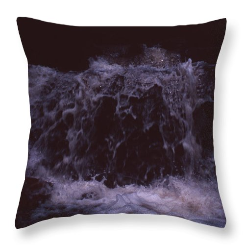 Bahia Throw Pillow featuring the photograph In A Bahian Waterfall by Patrick Klauss