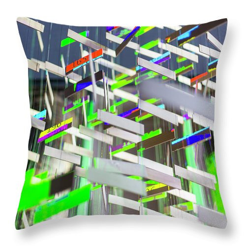 Big Ben Throw Pillow featuring the photograph In London Museums 6 by Alex Art and Photo
