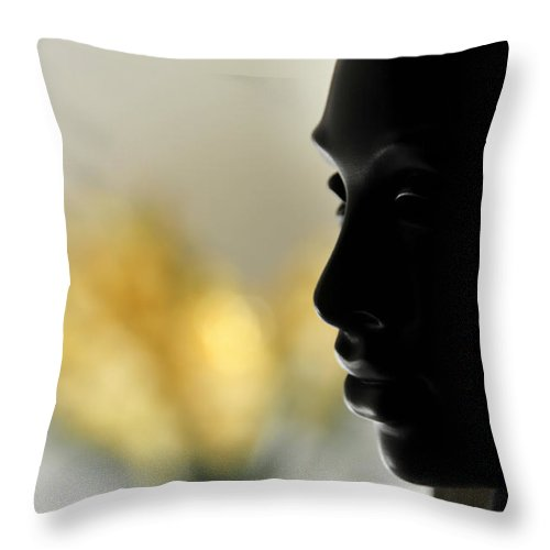 Princess Throw Pillow featuring the photograph In The Court Of The Princess by David Arment