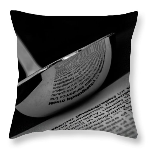 Ladle Throw Pillow featuring the photograph In The Kitchen by Spirit Vision Photography