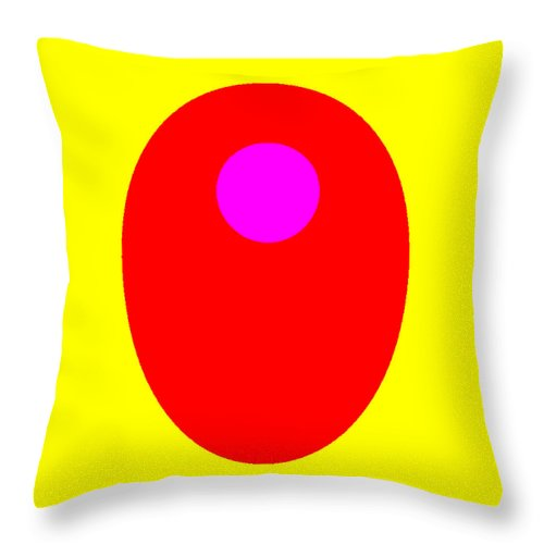 Square Throw Pillow featuring the digital art Inglow by Eikoni Images