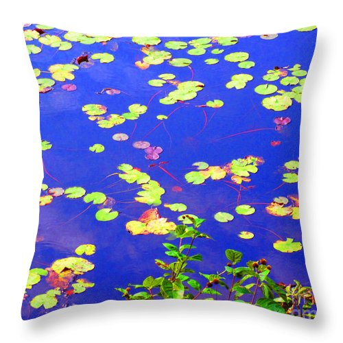 Water Throw Pillow featuring the photograph Innocence by Sybil Staples