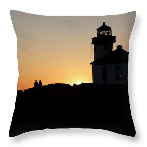San Throw Pillow featuring the photograph Inspirational Moments Just You And Me by Betsy Knapp