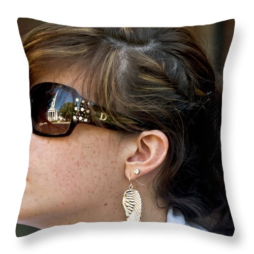 Inspired Throw Pillow featuring the photograph Inspired by Paul Mangold