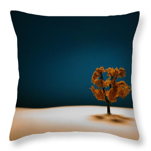 Tree Throw Pillow featuring the photograph It Is Always There by Mark Ross