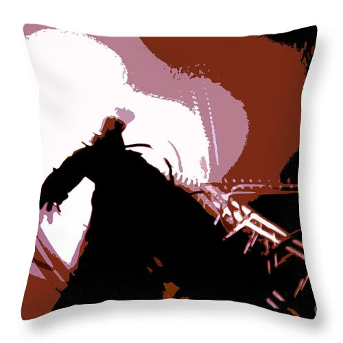 Monster Throw Pillow featuring the digital art Its Alive by David Lee Thompson