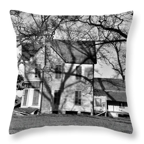 Landscapes Throw Pillow featuring the photograph It's Been Awhile by Jan Amiss Photography