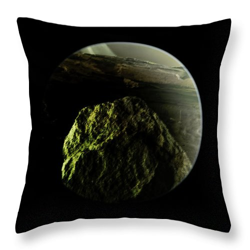 Planets Throw Pillow featuring the photograph It's Here1 by John Welling