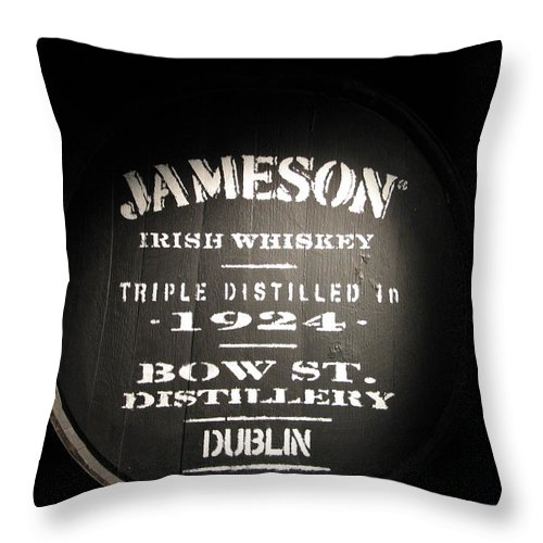 Jameson Throw Pillow featuring the photograph Jameson by Kelly Mezzapelle