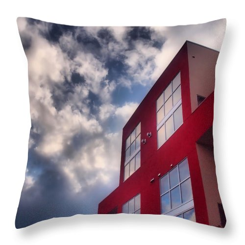 Building Throw Pillow featuring the photograph January 20 2010 by Tara Turner