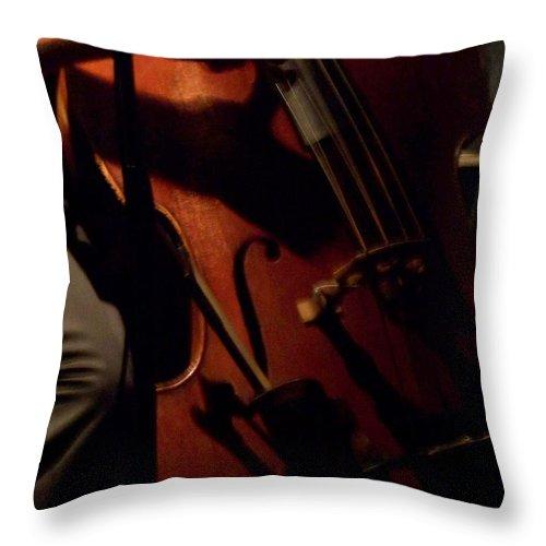 Jazz Throw Pillow featuring the photograph Jazz Estate 1 by Anita Burgermeister