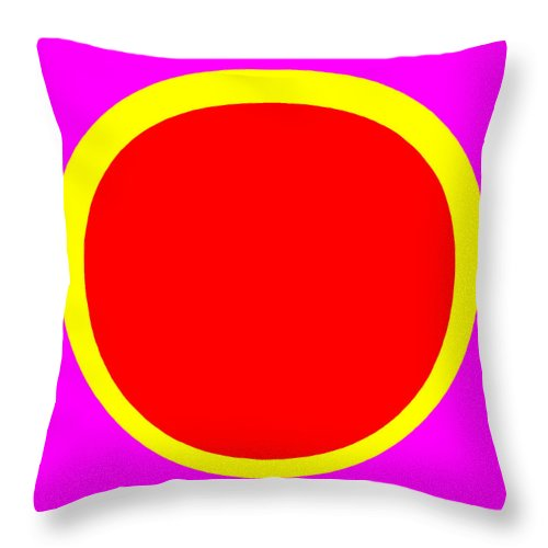 Square Throw Pillow featuring the digital art Jazz On A Summer's Day by Eikoni Images