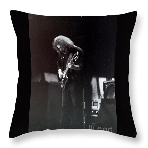 Jerry Throw Pillow featuring the photograph Grateful Dead - Morning Dew by Susan Carella