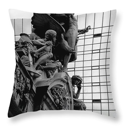 Carving Throw Pillow featuring the photograph Jewel In The Crown by RC DeWinter